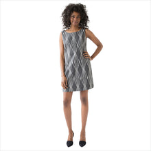 SAYDA Stonecut Dress: front