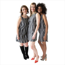 SAYDA Stonecut Dress: group