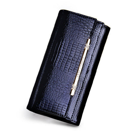 Luxury Women Wallets Patent Leather High Quality