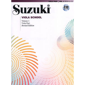 Suzuki Viola School Method Book