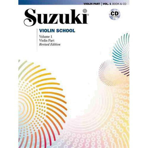 Suzuki Violin School Method Book w/ CD