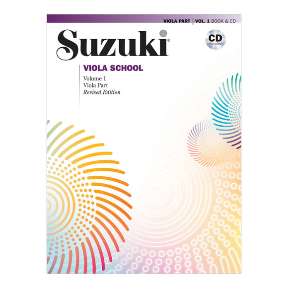 Suzuki Viola School Method Book w/ CD