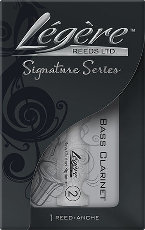Legere Bass Clainet Reed, Signature
