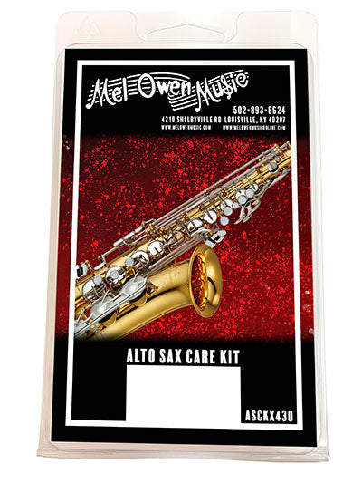 Mel Owen Music Alto Saxophone Care Kit