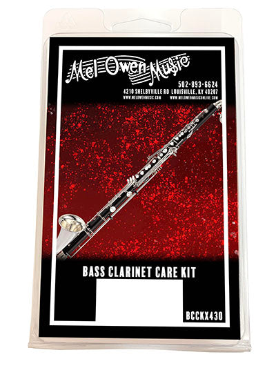 Mel Owen Music Bass Clarinet Care Kit