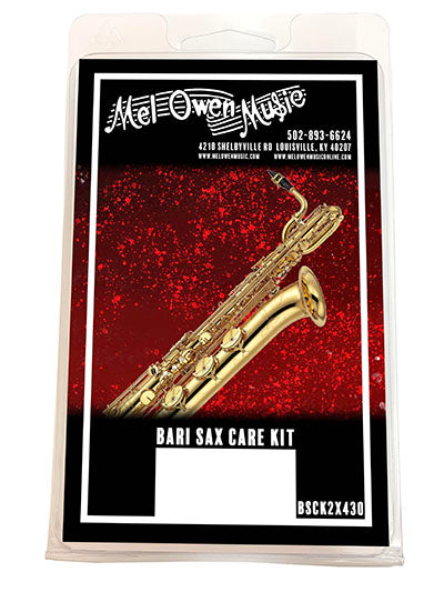 Mel Owen Music Baritone Saxophone Care Kit