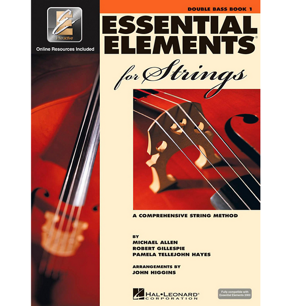 Essential Elements for Strings - Bass