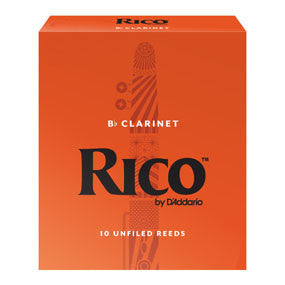 Rico B-Flat Clarinet Reeds (Box of 10)
