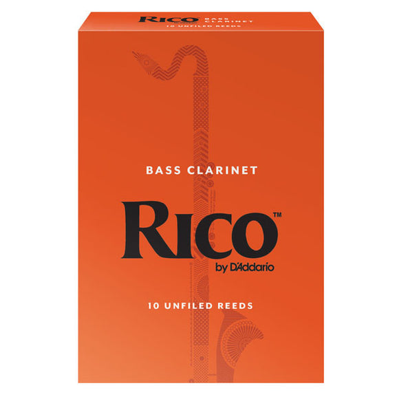 Rico Bass Clarinet Reeds (Box of 10)