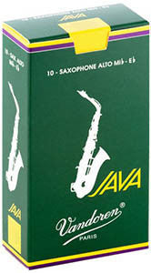 Vandoren Java Alto Saxophone Reeds (Box of 10)