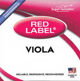 Super-Sensitive Red Label Viola Strings - Set