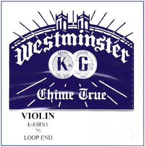 "Westminster ""Chime True"" Violin E String - Ball End"