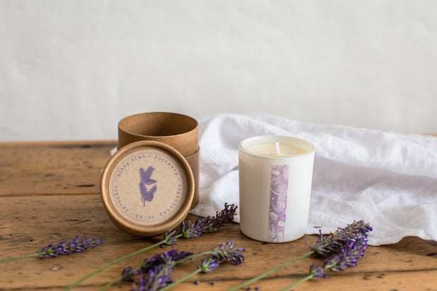 Sleep  time - refillable candle