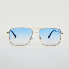 SUNGLASSES - SQUARE NAVIGATOR - BLUE