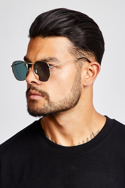 SUNGLASSES - ROUNDED V2 - BLACK