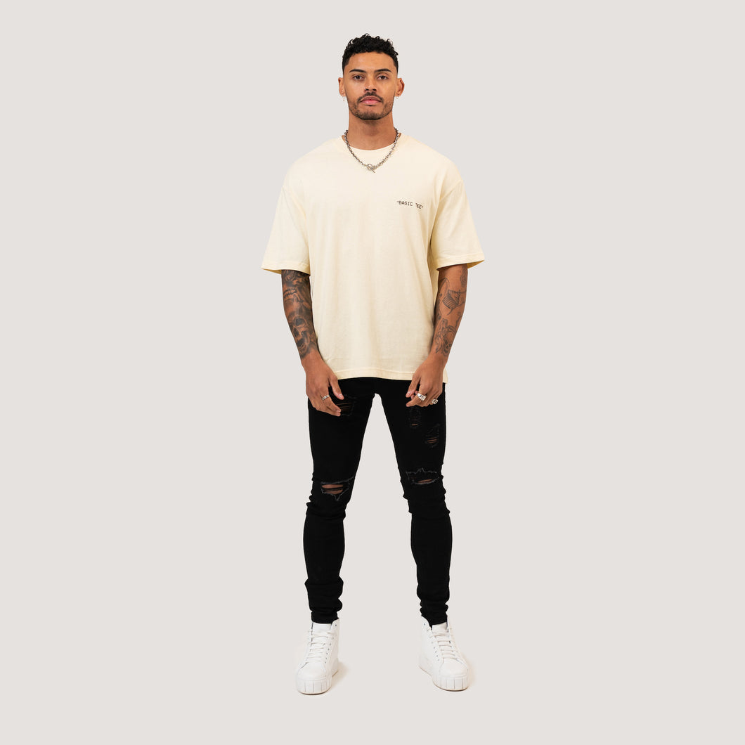 ESSENTIAL T-SHIRT - BEIGE