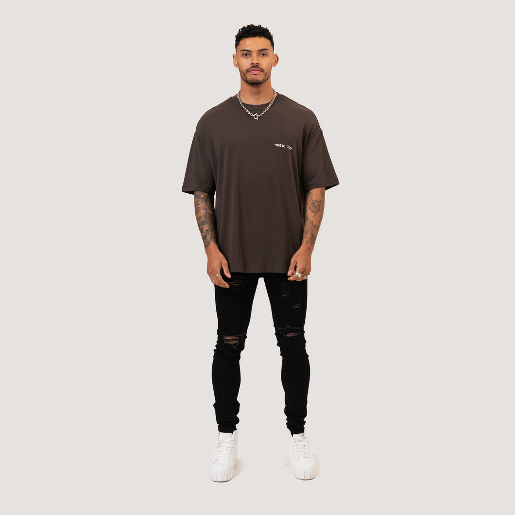 ESSENTIAL T-SHIRT - CHARCOAL