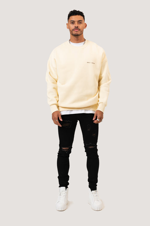 ESSENTIAL SWEATSHIRT - BEIGE