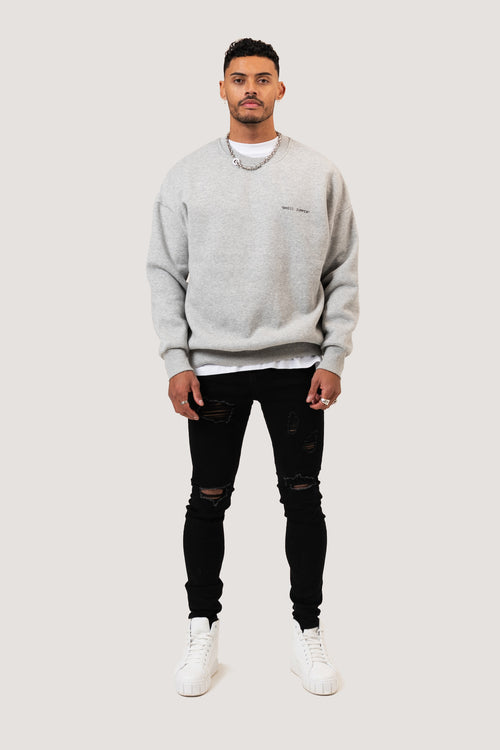 ESSENTIAL SWEATSHIRT - GRAY