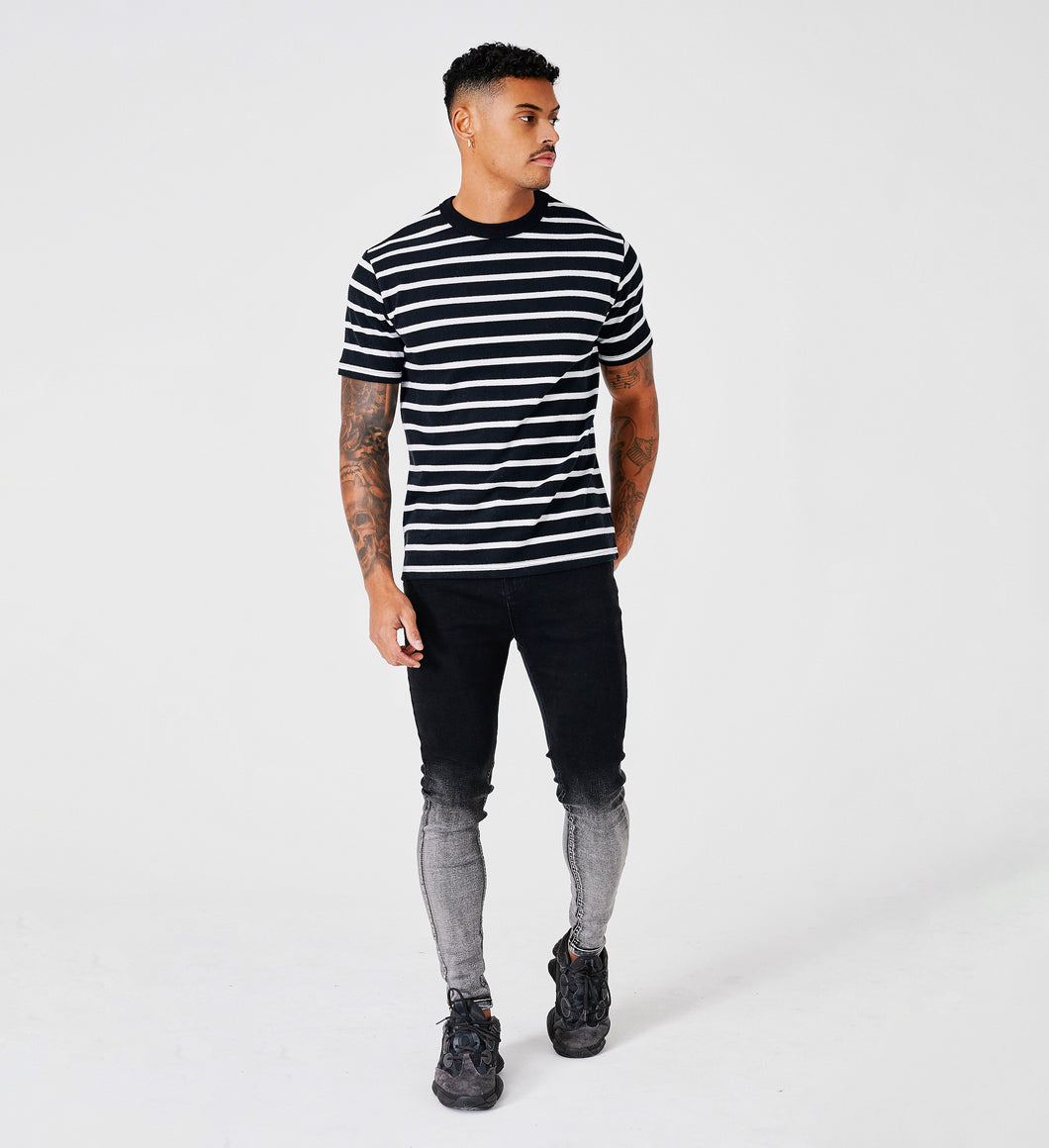 STRIPE T-SHIRT - MONO