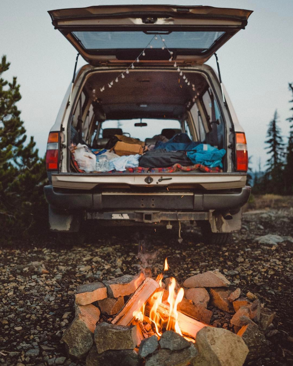 camping in the pacific northwest