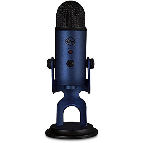 Blue Microphones Yeti Ultimate USB Microphone - Silver (YETI) + Suspension Boom Scissor Arm Stand + Universal Pop Filter Microphone Wind Screen + Mic Stand Adapter + MicroFiber Cloth