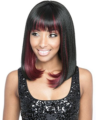 NW20 (SMP1B/WINEBLACK) - Mane Concept ISIS Red Carpet Nominee Synthetic Full Wig
