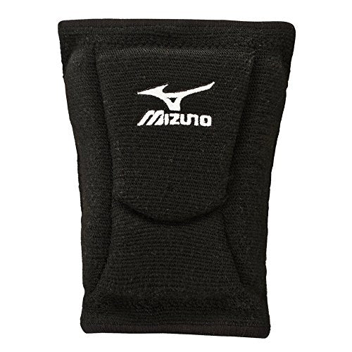 Mizuno LR6 Volleyball Kneepad, Black, Medium
