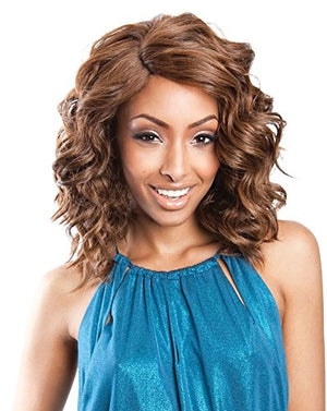 RCP172 ANGIE (1 Jet Black) - Mane Concept ISIS Red Carpet Synthetic Full Wig