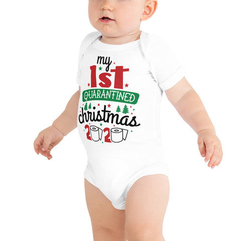 My 1st Quarantined Christmas 2020 Infant Bodysuit