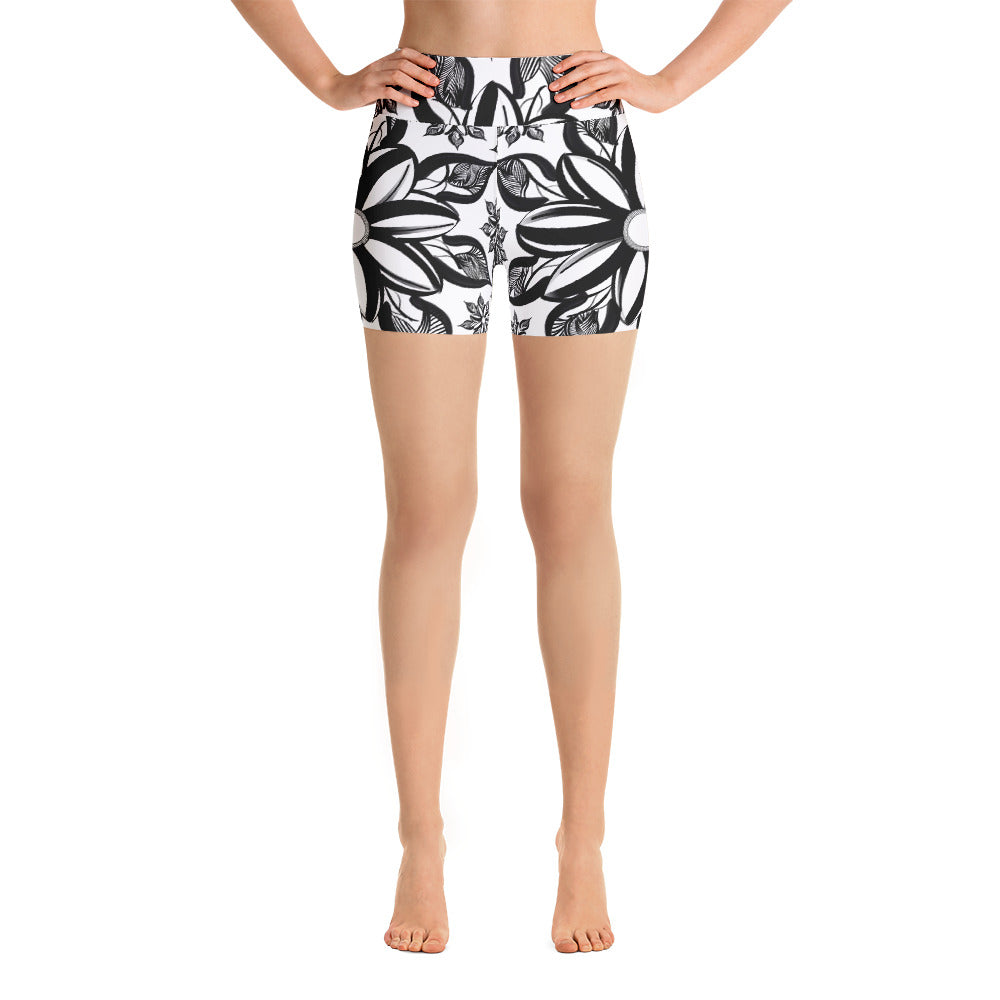 Mendhi Yoga Shorts