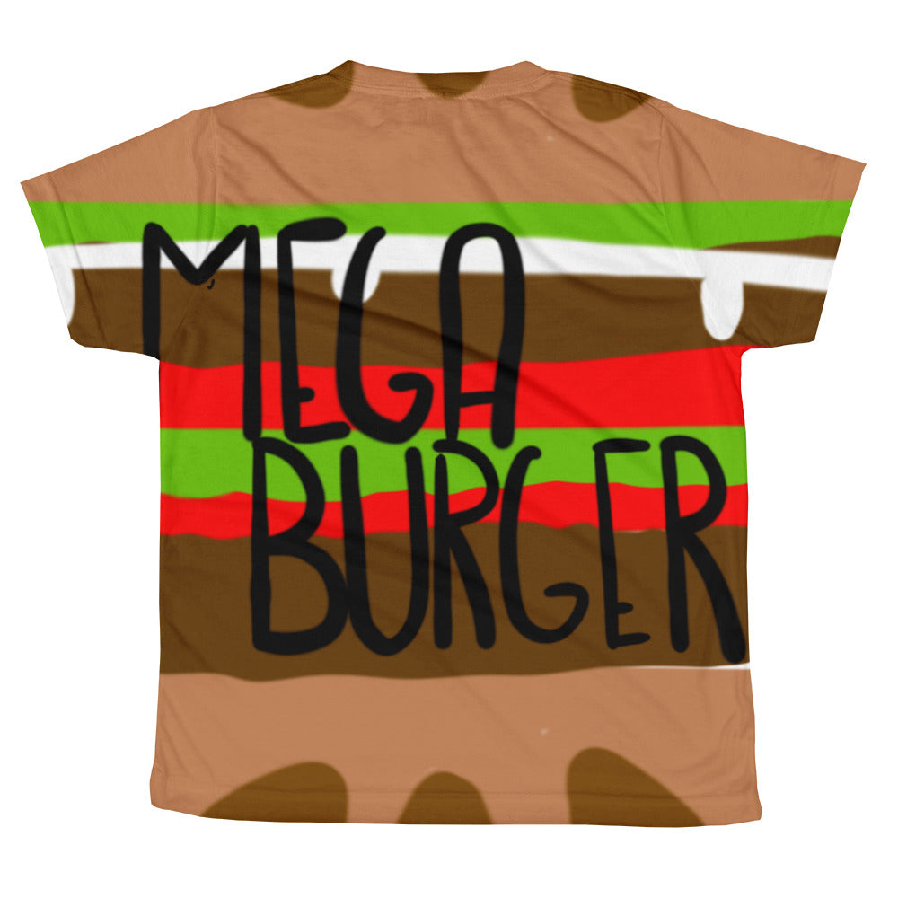 MegaBurger - All-over youth sublimation T-shirt