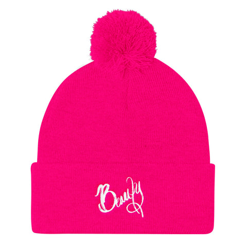 Beauty - Pom Pom Knit Cap