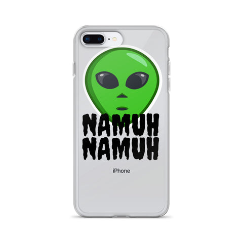 Alien NAMUH (HUMAN) iPhone Case