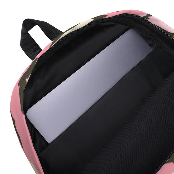 Camo Pink Backpack