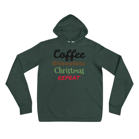 Coffee Chocolate Christmas Unisex hoodie