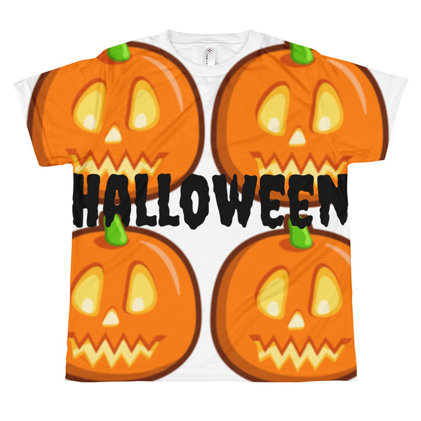 HallOween Pumpkin All-over youth sublimation T-shirt
