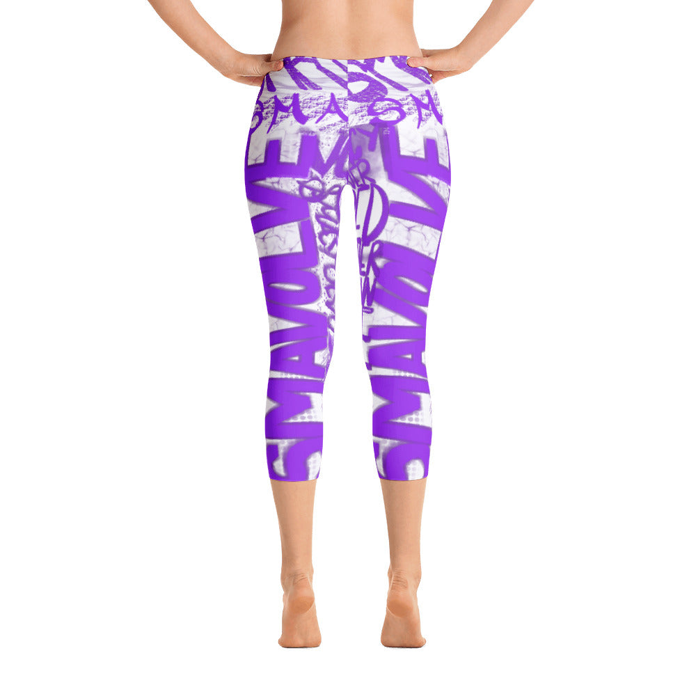 SmaVolve Graphic Capri Leggings