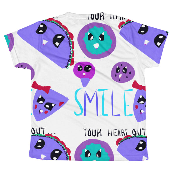 Smile Taco - All-over youth sublimation T-shirt