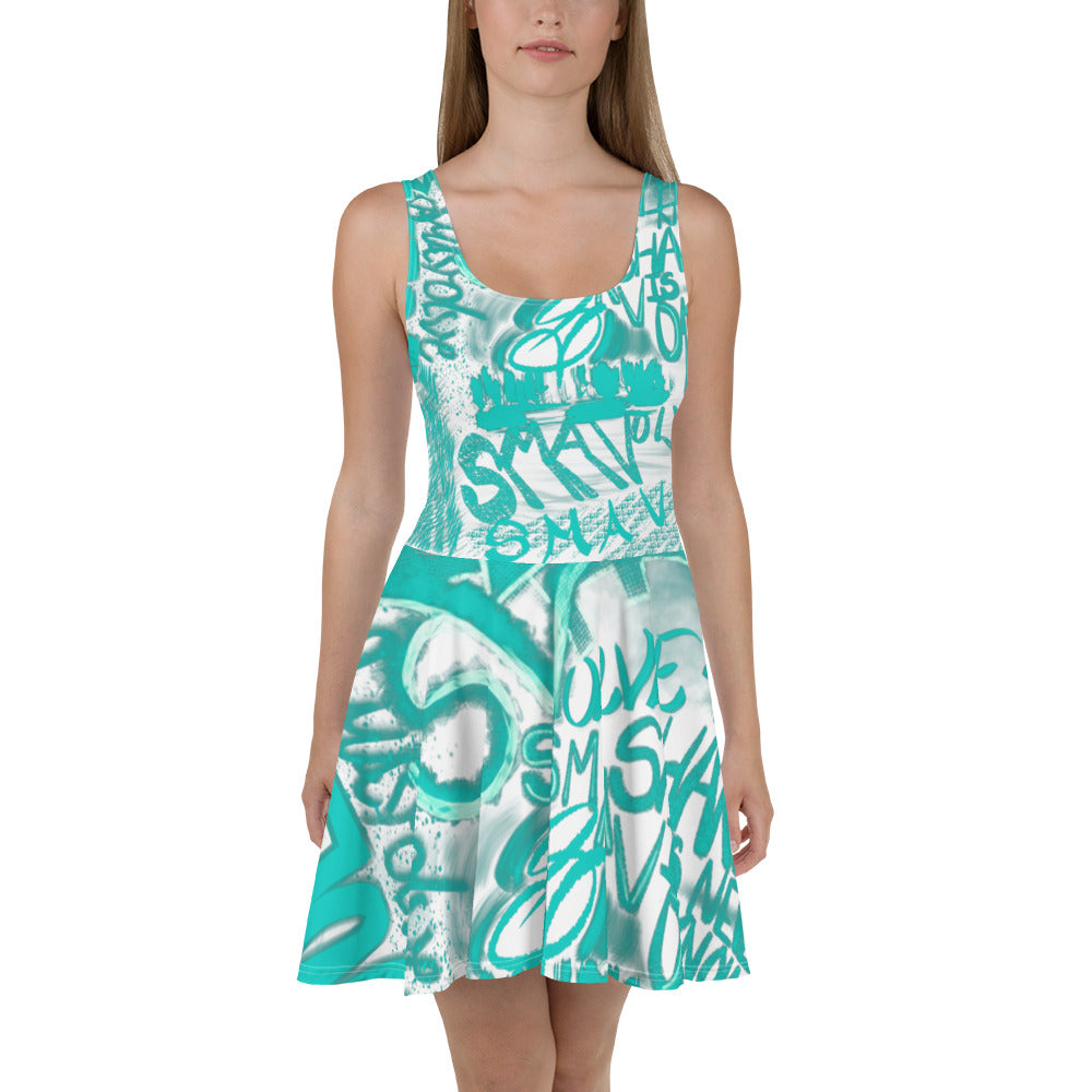 Smavolve Graphic Skater Dress