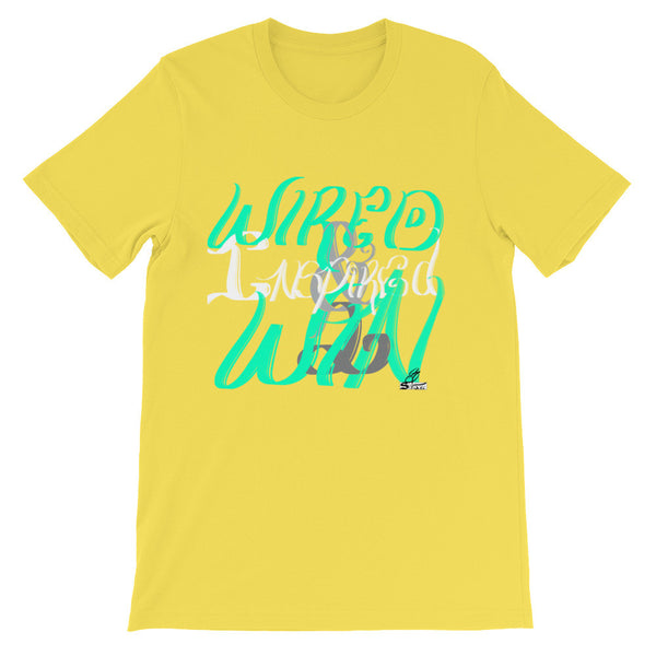 Wired & Inspired 2 Win- Unisex t-shirt