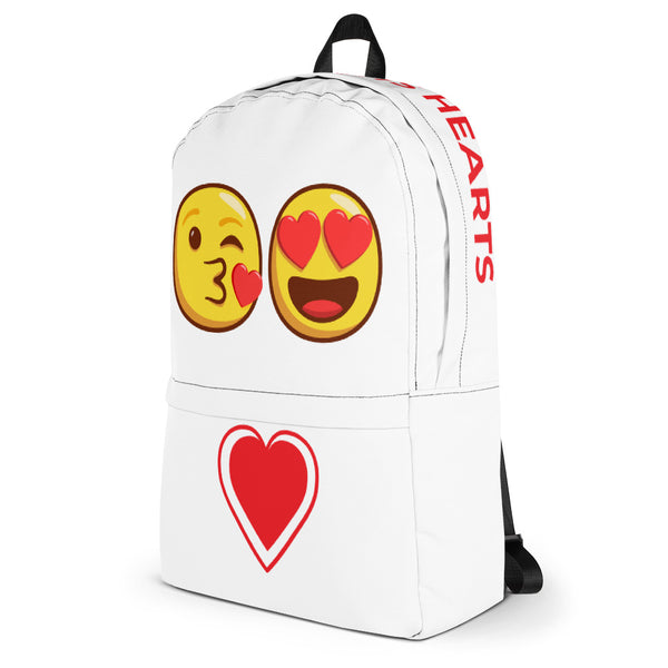 Hearts Emoji Backpack