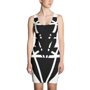 Diamond Black Bold - Sublimation Cut & Sew Dress