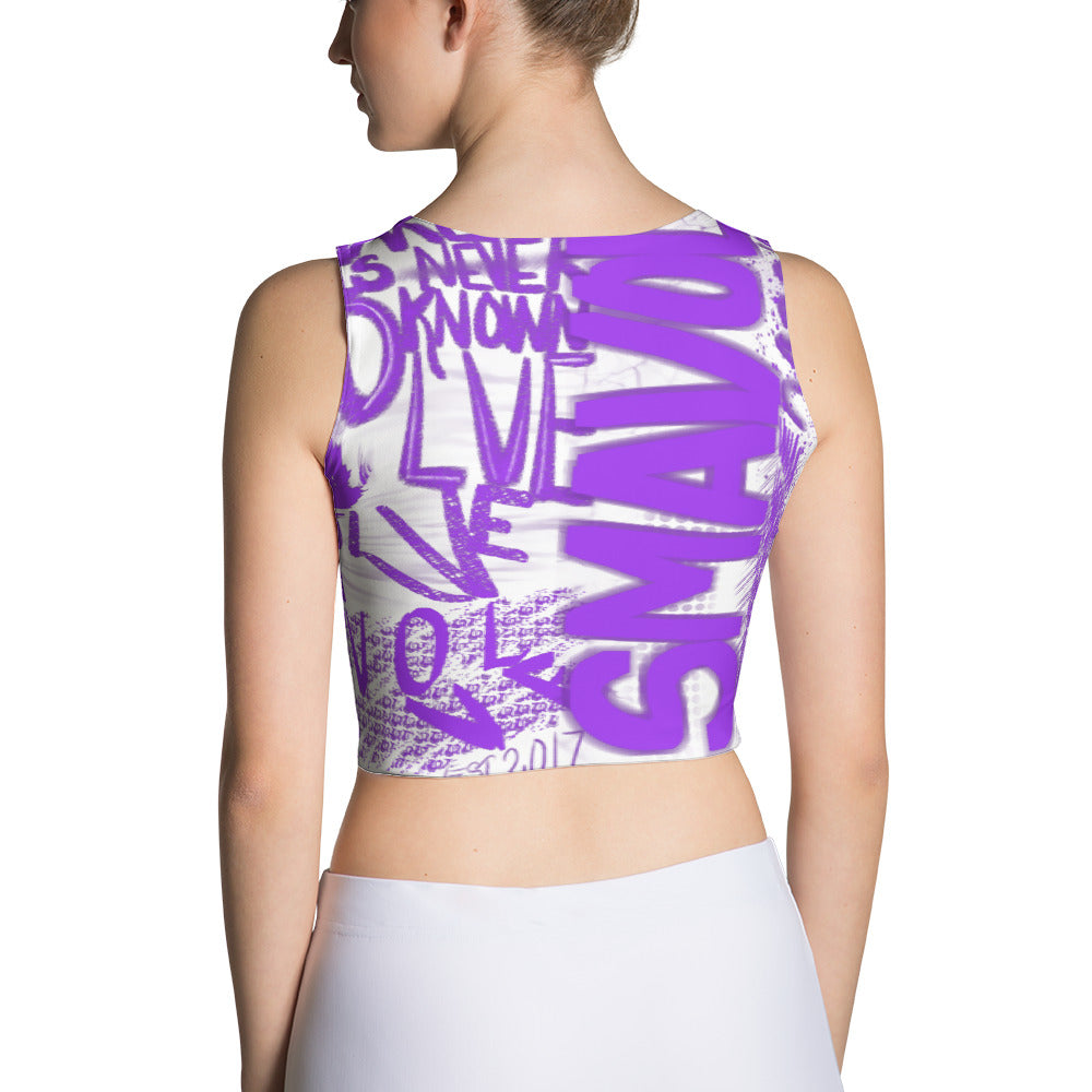 SmaVolve Graphic Crop Top