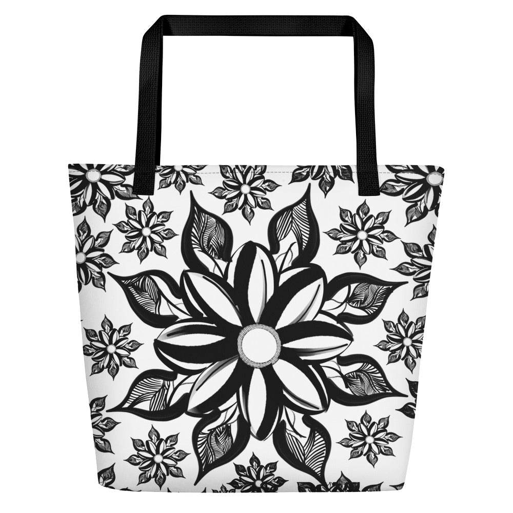 Mendhi Art Inspired - Beach Bag