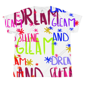 Dream Gleam & Shine- All-over youth sublimation T-shirt