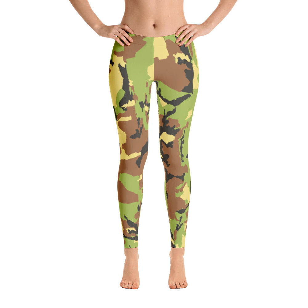 Camo Green Leggings