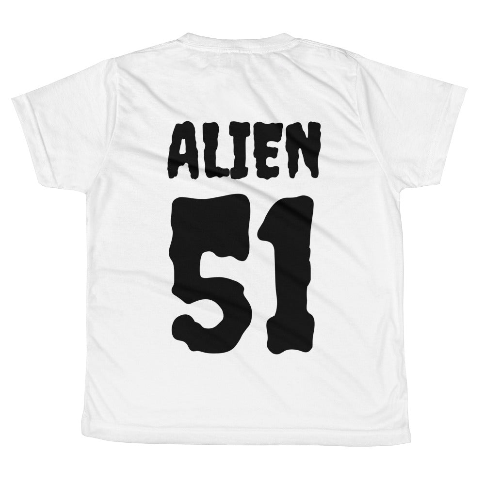 Alien NAMUH (HUMAN) All-over youth sublimation T-shirt