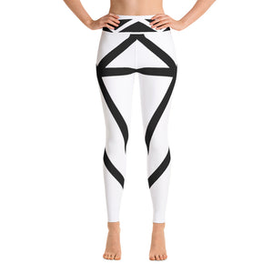 Diamond Black Yoga Leggings