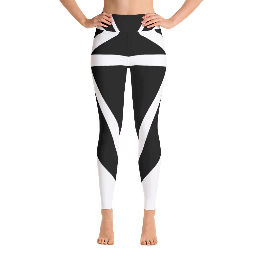 Diamond Black Bold- Yoga Leggings